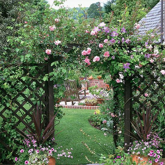 3 country style garden ideas Country style garden ideas
