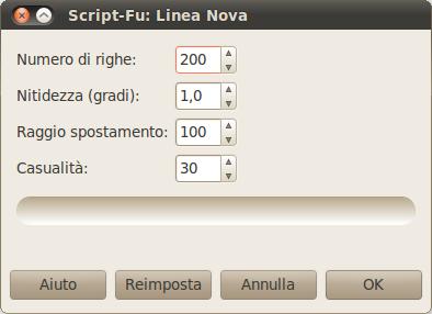 Opzioni di Linea Nova