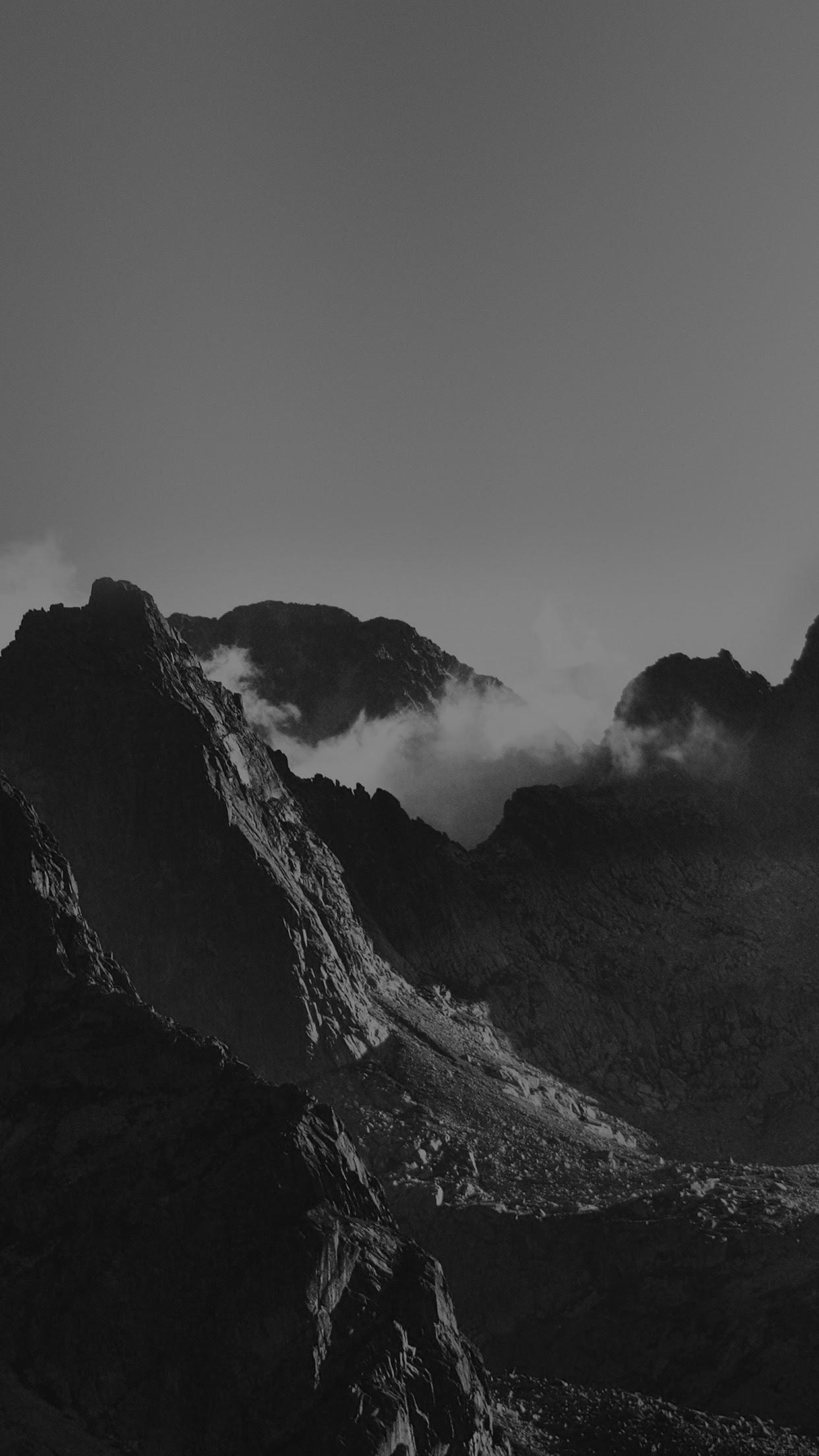 Dark Mountain Wallpaper Iphone