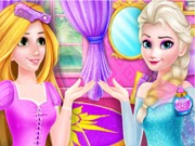 ملكة الثلج تصبح رابونزيل