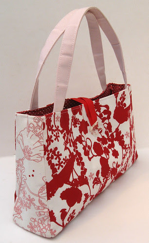 Amy Butler In Town Bag with Kristen Doran fabric