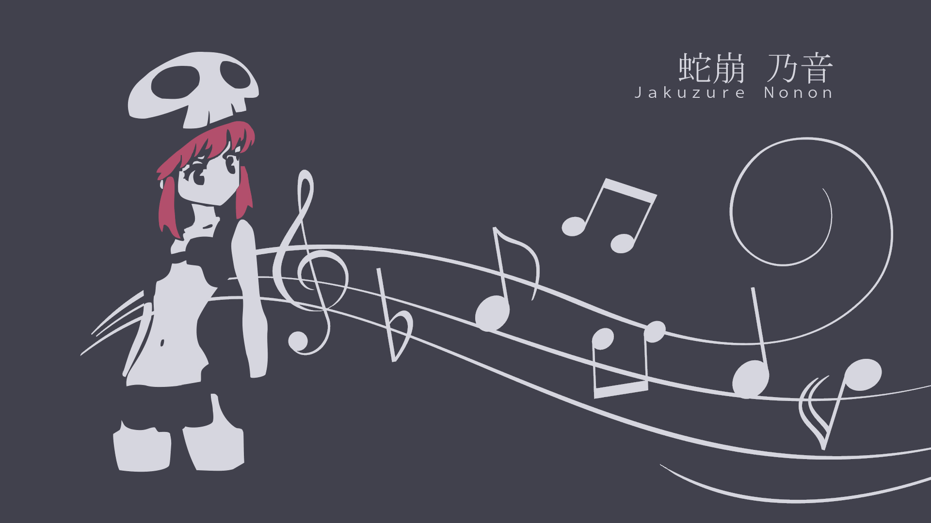 Spoilers I Couldn T Sleep Last Night So I Made This Wallpaper Of Nonon Jakuzure From Yesterday S Episode Of Kill La Kill Thanks To U D4k L1gh7 For Touch Ups Anime