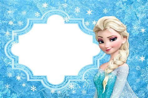 Frozen: Free Printable Cards or Party Invitations.   Oh My