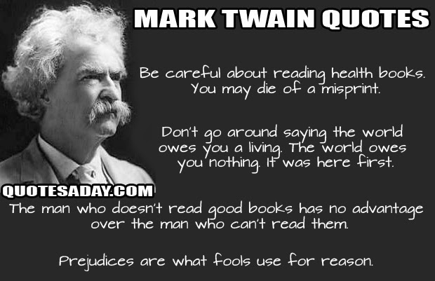Famous Quotes By Mark Twain. QuotesGram
