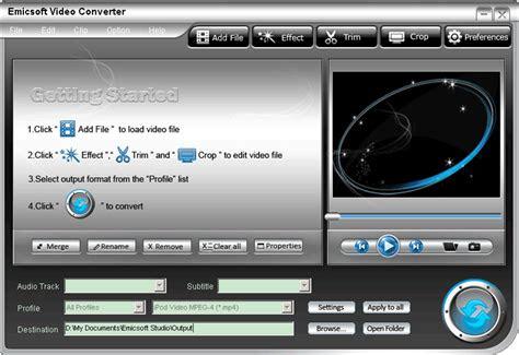 video converter software convert video  mp avi