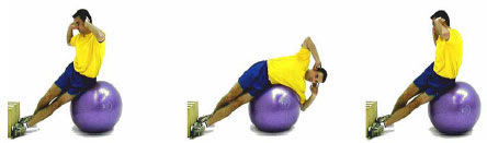 stability ball core training