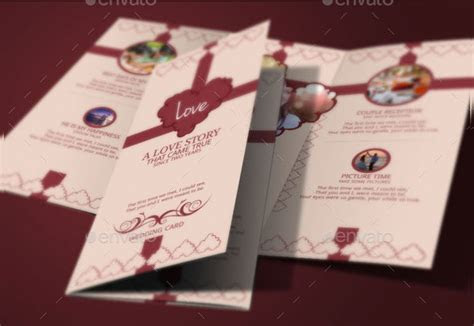 17  Tri Fold Wedding Invitation Templates   Free & Premium