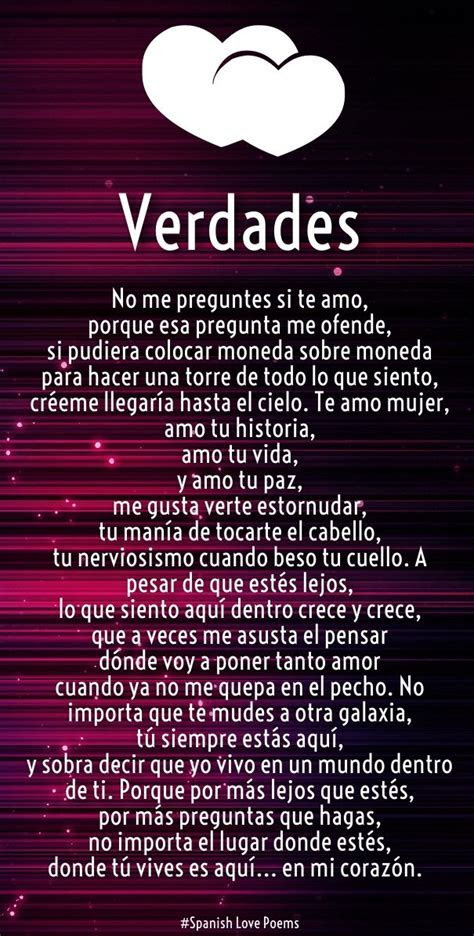 spanish love poems   Love Quotes for Her from The Heart