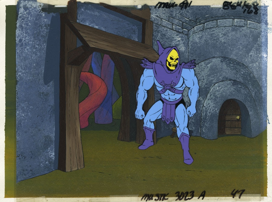 He-Man and the Masters of the Universe animation cels Comic Art