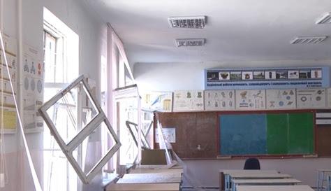 σχολείο στο Λουγκανσκ