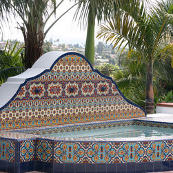 Mediterranean Swimming Pools and Spas : Find Hot Tubs and Above ...
