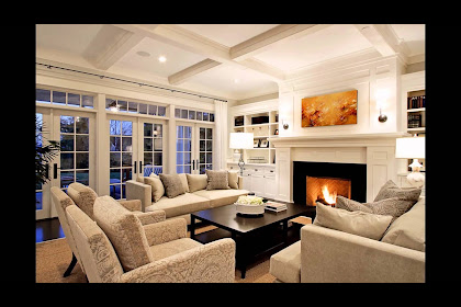 Family Room Layout With Tv And Fireplace