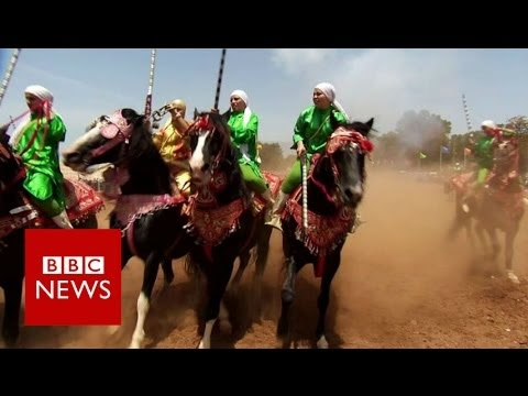 Lifestyle: Morocco's warrior women beating men at their own games (video)