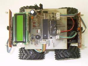 PIC16F877 Phát hiện chuyển động Robot di động