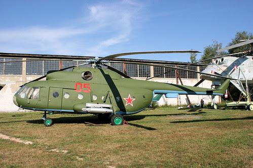 Mil Mi-8T 05 red