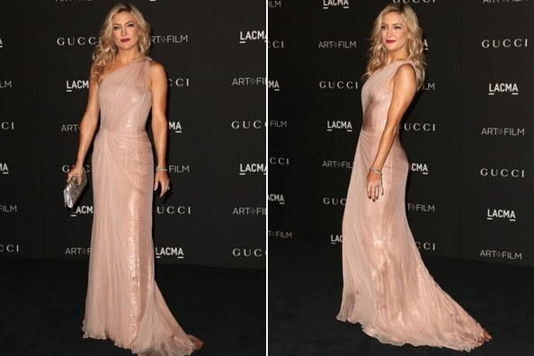 Look of the Day, November 3rd: Kate Hudson's Glistening Gown