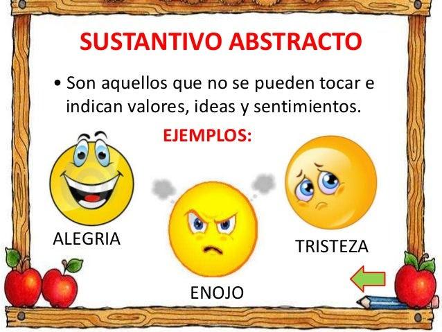 Sustantivo Abstracto Definición Y Ejemplos Bien Explicado Wilson Te Educa Wilson Te Educa