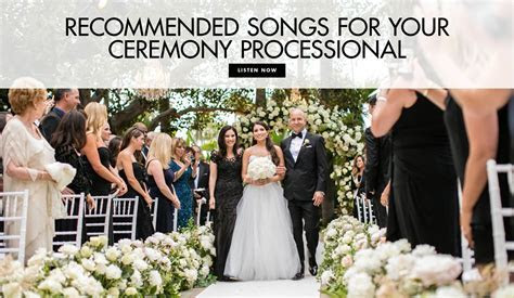 Wedding Songs: 10 Modern & Oldies Ceremony Processional