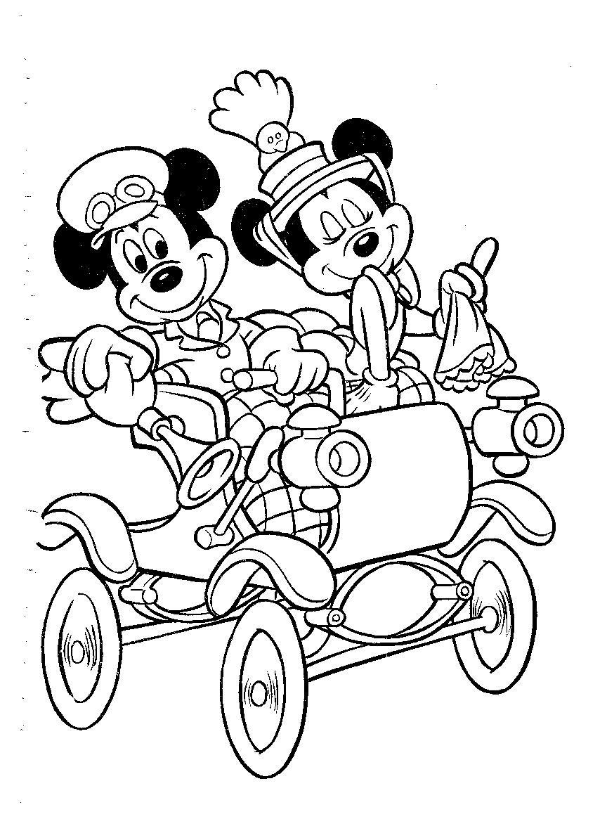 Mickey Mouse Dibujos Para Colorear Disneydibujoscom