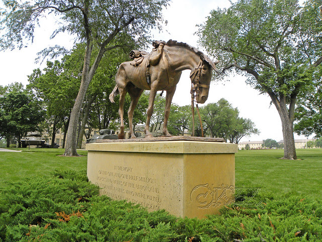 DSCN1585 Civil War Horse Memorial