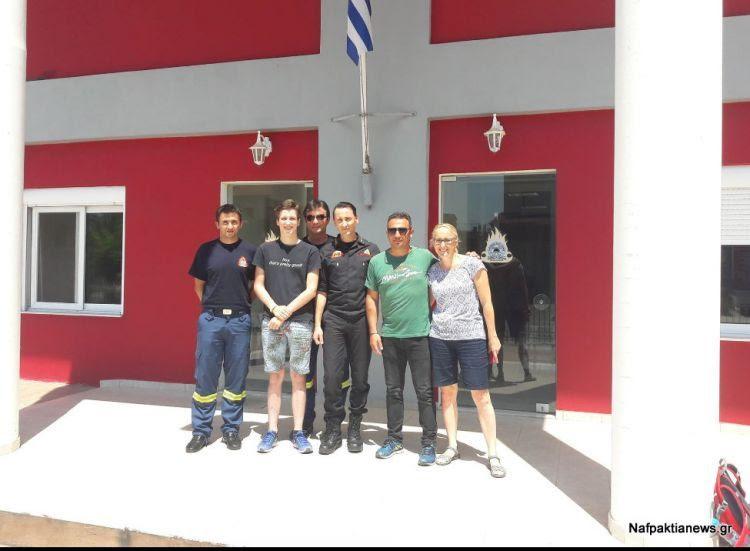 Ο 18χρονος Ολλανδός ορειβάτης ευχαρίστησε κατοίκους και Αρχές που βοήθησαν στην διάσωση απο την Βαράσοβα