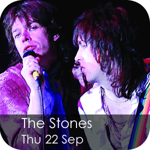 The Stones - Thursday 22 September