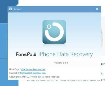 FonePaw iPhone Data Recovery 3.8.0 Crack With Registration Key Cl\u00e9s Cl\u00e9, R\u00e9tablissement