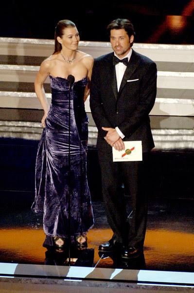 Greys Anatomy Actors Images Ellen Pompeo And Patrick Dempsey