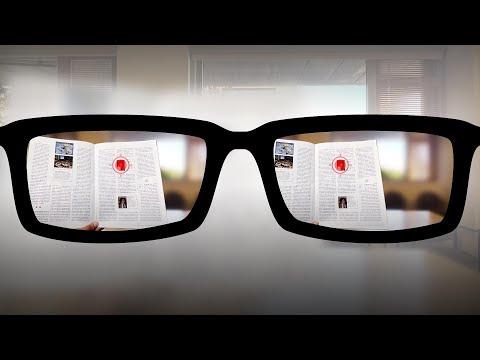 .史丹佛大學研發自動調焦老花鏡,採用眼球追蹤與 3D 感測器