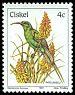 Cl: Malachite Sunbird (Nectarinia famosa) <<Ingcyngcu>>  SG 8 (1981) 8