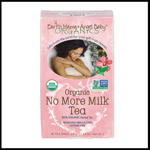 No More Milk Tea: Certified Organic Weaning Tea - Earth Mama Angel Baby