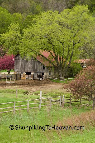 Farm Scene, Richland County, Wisconsin