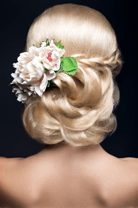 floral hairstyles « Bridal Hair Stylist and Makeup