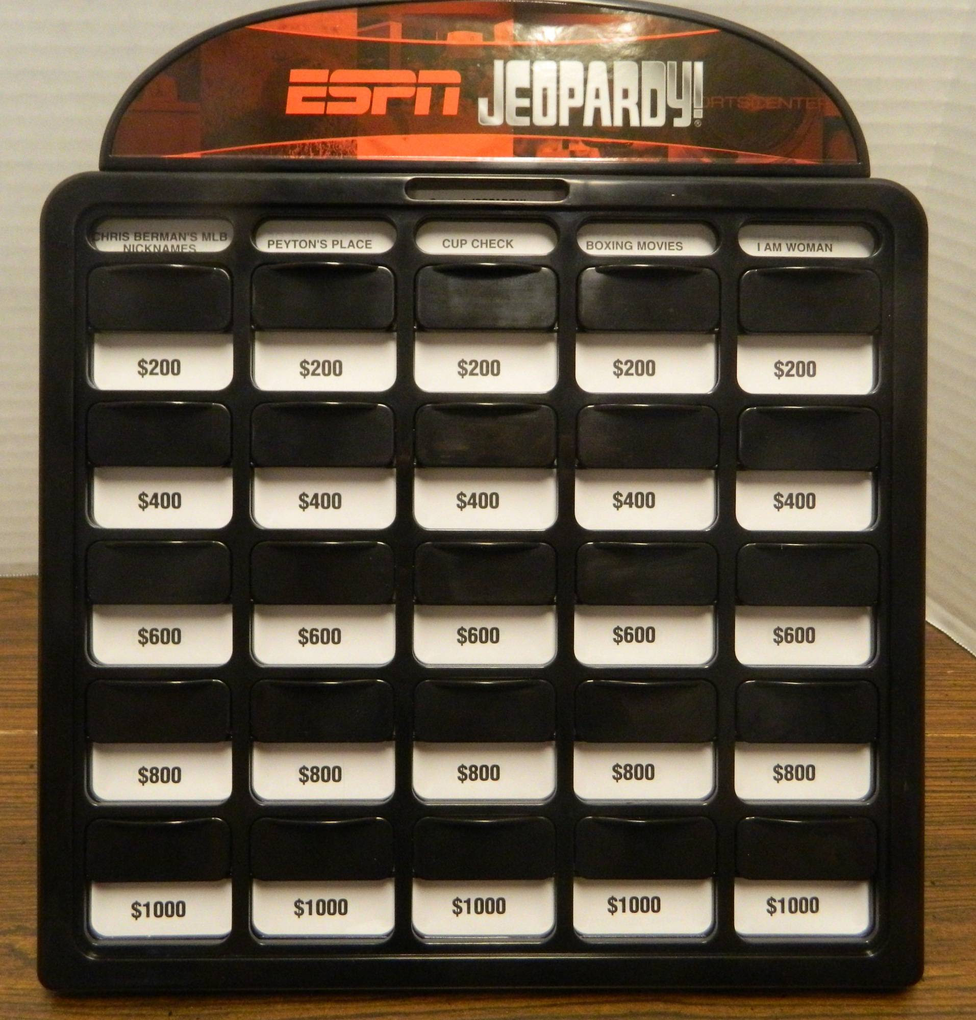 Espn Jeopardy Board Game Review And Rules Geeky Hobbies