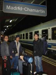 Train Station Madrid Chamartin, Madrid, Spain