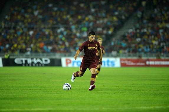 Sergio Aguero © Kostas Koutsaftikis/Shutterstock.com