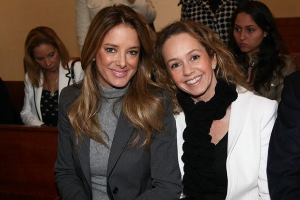 Ticiane Pinheiro e Débora Quintela (Foto: Manuela Scarpa/Foto Rio News)