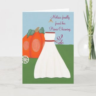 Princess Bride Bridal Shower Invitations card