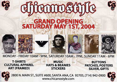 Chicano Style Grand Opening Sat May 1st 2004