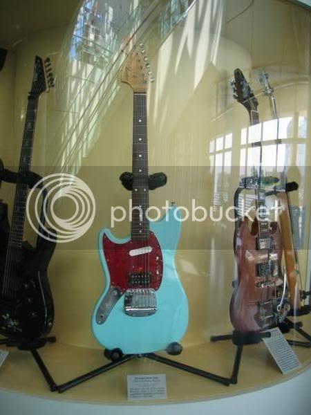 Kurt Cobain's Mustang and Mystery Gibson