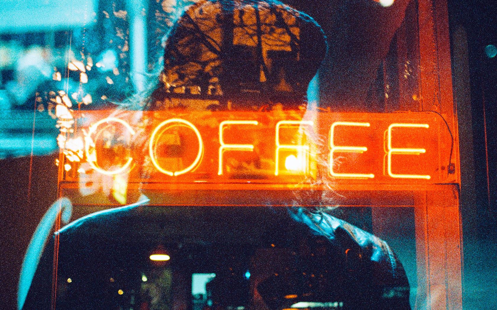 az93coffeeneonsignnightillustrationartwallpaper