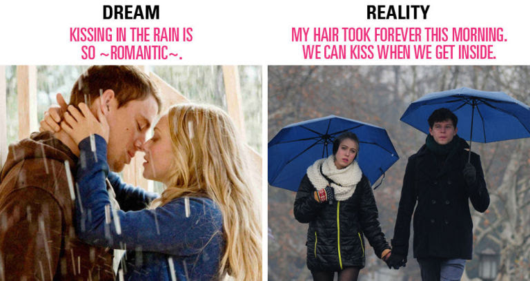 Image result for relationship expectations vs  reality