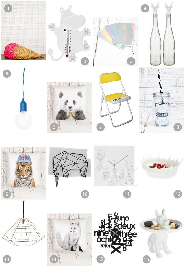 home decoration gadgets urban outfitters zalando fashion blogger turn it inside out belgium ice cream couch bottle holographic notebooks panda pantone chair fox tiger cushions elephant geometric minimal interior design