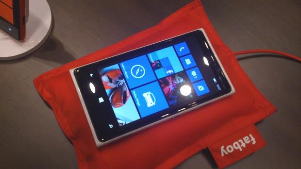 Nokia Lumia 920 (Foto: Allan Melo / TechTudo)