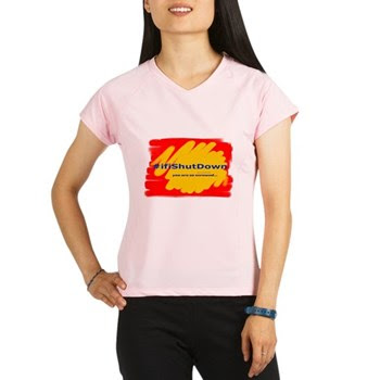 #ifiShutDown Women's Performance Dry T-Shirt