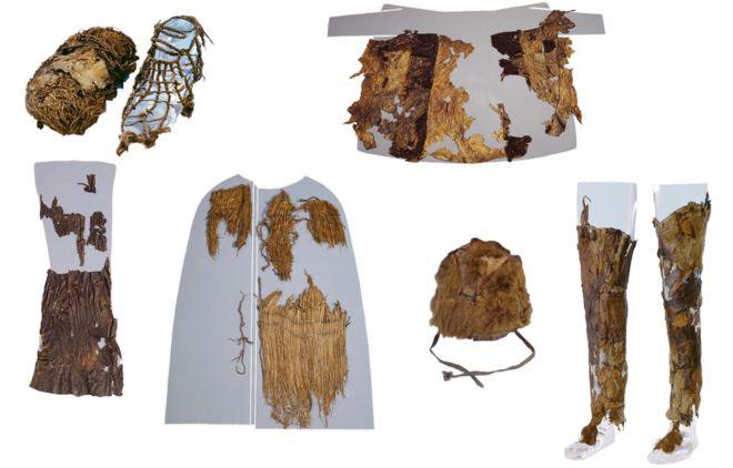Iceman's clothes