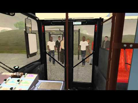 OMSI bus simulator, Dublin bus route 41C