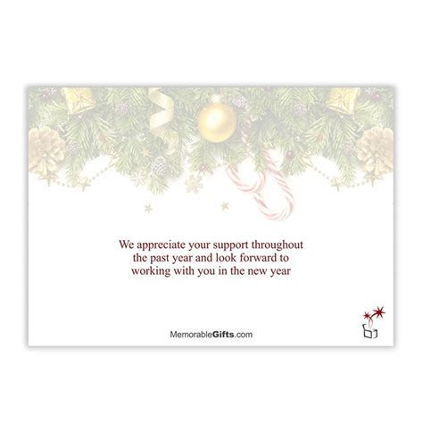 Seasons Greeting Corporate Holiday Card