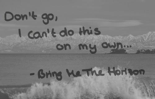 love quote Black and White depressed depression sad lonely ...