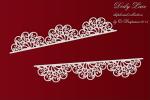 Doily Lace - Lace borders 03 - Koronkowe bordery 03